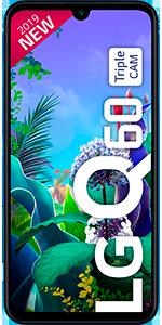 Telefono móvil libre LG Q60