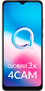 Telefono móvil libre Alcatel 3X 4CAM