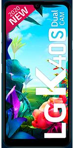 Teléfono móvil libre LG K40S
