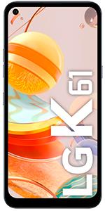 Teléfono móvil libre LG K61